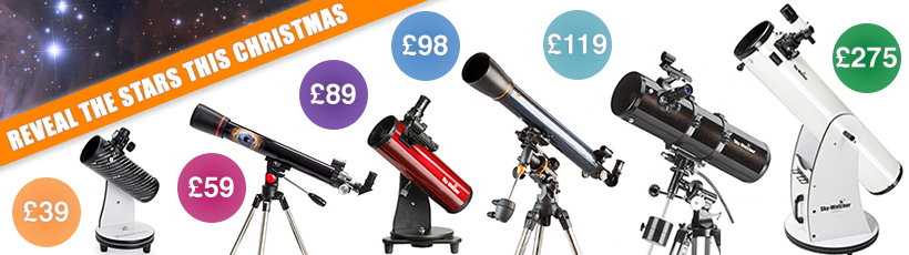 Perfect telescopes for beginners this Christmas