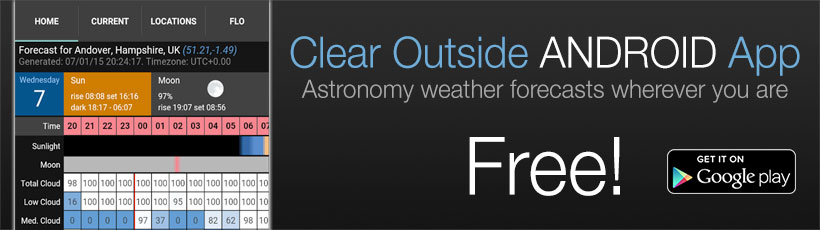 Clear Outside Android App