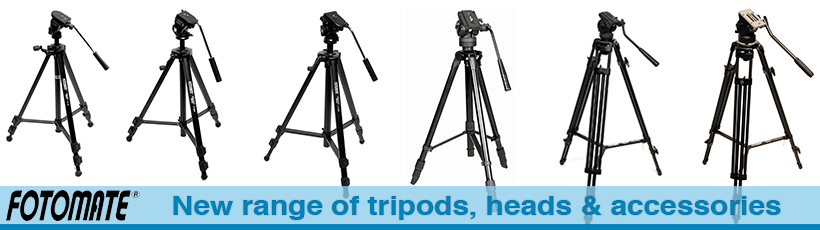 Fotomate Tripods, Heads & Accessories