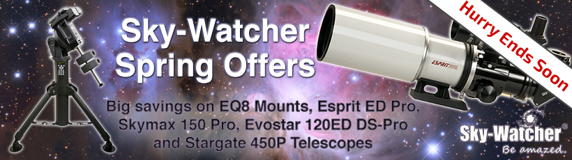 Sky-Watcher Spring Sale