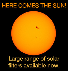 Solar Filters Available Now!