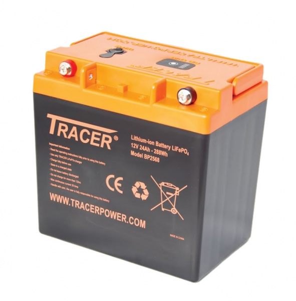 tracer lifepo4 12v 24ah battery pack first light optics. Black Bedroom Furniture Sets. Home Design Ideas