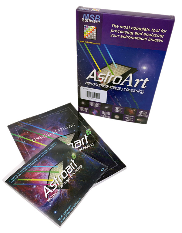 AstroArt V6 Image Capture & Processing Package (with free upgrade to AstroArt 7)