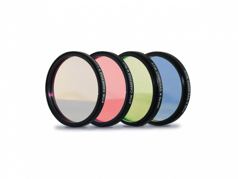 Atik LRGB Filter Set - Special Bundle Offer (only available when purchased with an Atik Cooled Mono Camera)