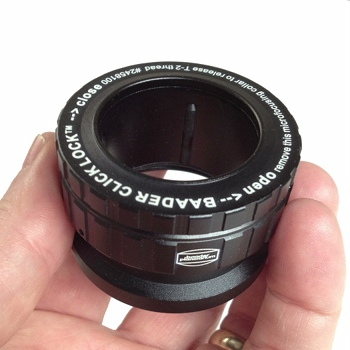 Baader ClickLock 1.25'' Eyepiece Adapter with T-2 Thread