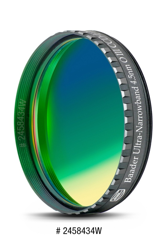 Baader Ultra-Narrowband 4.5nm OIII Filter