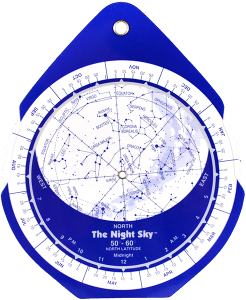 David Chandler Night Sky Planisphere (Small, Plastic)