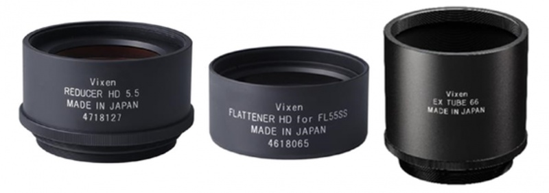 Vixen Reducer/Flattener HD Kit for FL55SS Telescopes