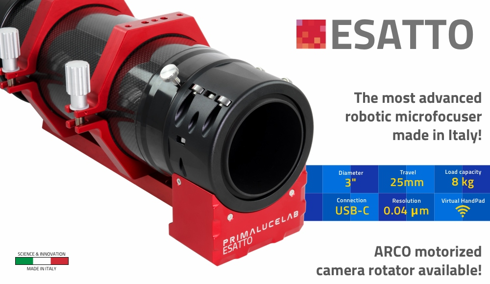 ESATTO 3'' robotic microfocuser