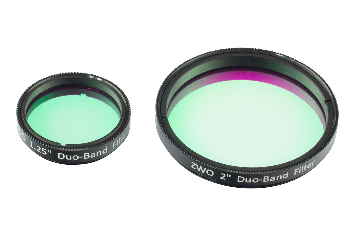 ZWO 1.25'' / 2'' Duo-Band Dual Narrowband Filter