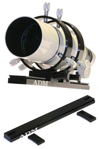 ADM Mini Dovetail & Guidescope Rings Meade 10'' Kit