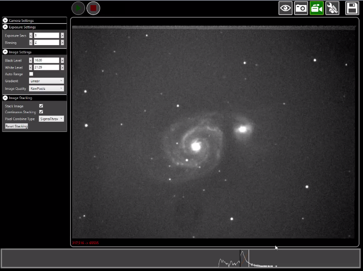 Atik Infinity Video Astronomy Guiding Imaging Camera