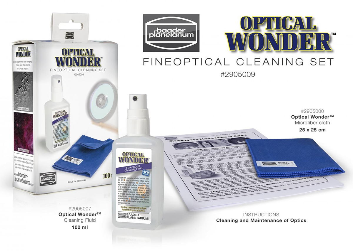 Baader Optical Wonder™ Set (Cleaning Fluid and Cloth)