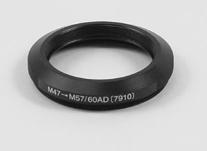 M47 to M57/60 Adapter for Tak FC50/60