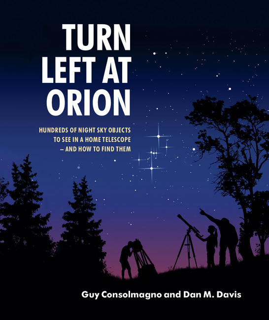 Turn Left at Orion Book