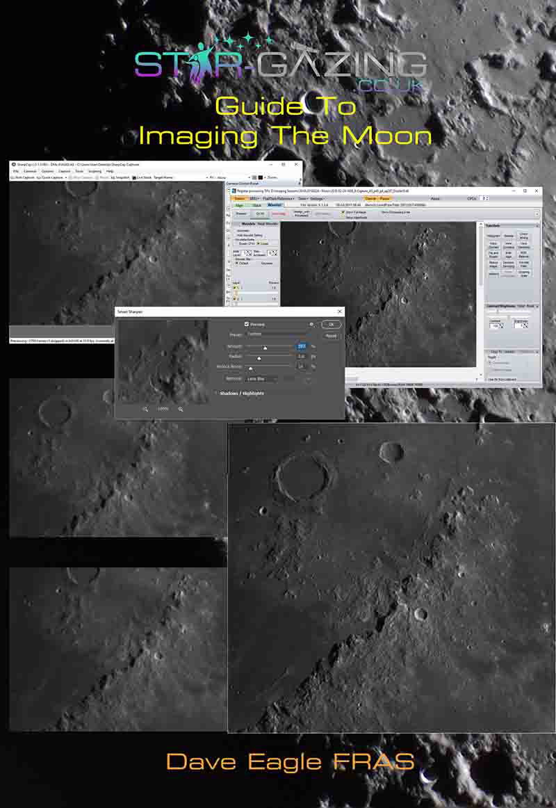 Star-gazing Guide to Imaging The Moon by Dave Eagle