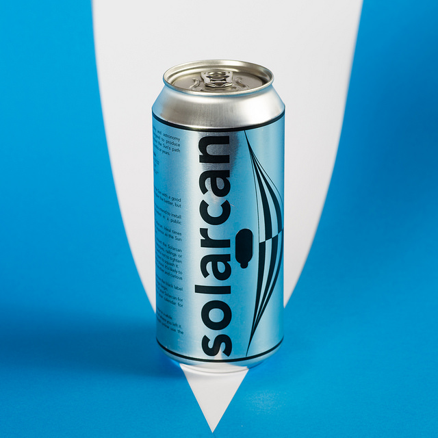 Solarcan - Ready to use solargraphy Camera