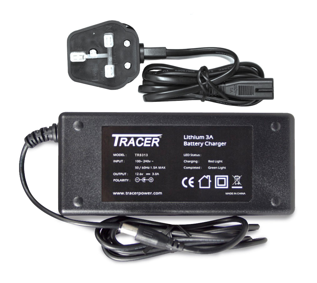 Tracer 12V 3A LiPo Fast Charger