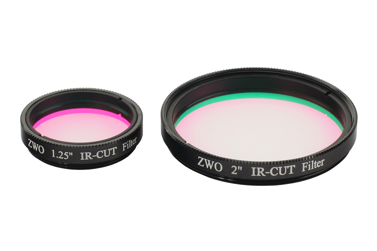 ZWO 1.25″ / 2'' IR/UV Cut Filter