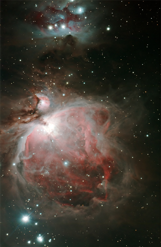 M42 M43 NGC1977 RGB with the MN190