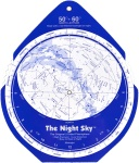 David Chandler Night Sky Planisphere (Large, Plastic)