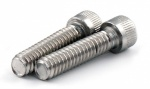 1/4'' Socket Head Whitworth Bolts (x2) 1'' Long