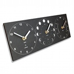 Moon Phase, Tide & Time Clock