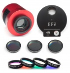 ZWO ASI1600MM-Cool USB 3.0 Mono Camera, EFW7, 36mm LRGB Filters & 36mm Ha / SII / OIII Filters Bundle
