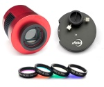 ZWO ASI1600MM-Cool USB 3.0 Mono Camera, EFWMini Filter Wheel & 1.25'' LRGB Filter Bundle