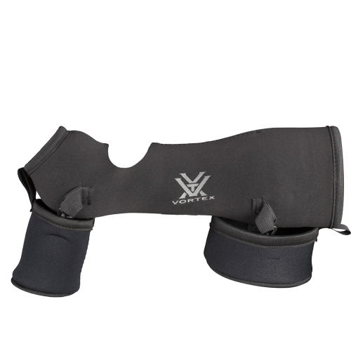 Vortex Optics Razor HD 65 Black Neoprene Case - Angled