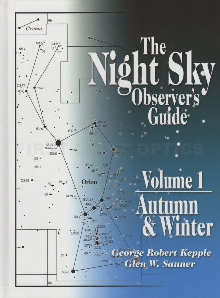The Night Sky Observers Guide - Volumes 1, 2, 3 and 4 Book