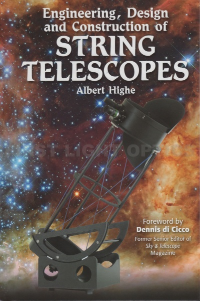 Engineering, Design and Construction of String Telescopes Book