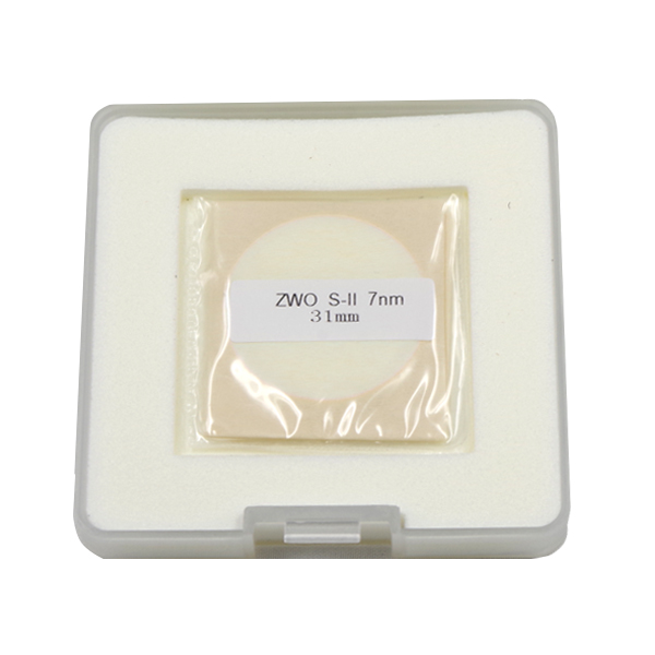 ZWO 31mm SII 7nm Unmounted Narrowband Filter