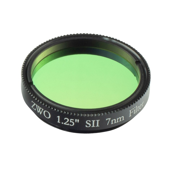 ZWO 1.25'' SII 7nm Narrowband Filter